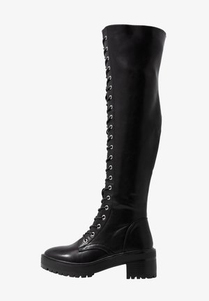 Stivali sopra il ginocchio - black