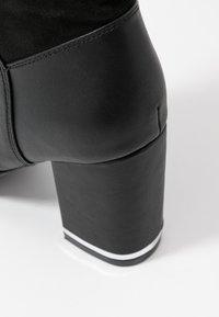 Even&Odd - Boots med høye hæler - black - 2
