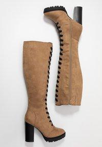 Even&Odd - Laarzen met hoge hak - sand - 3