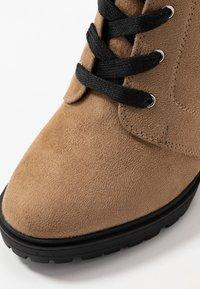 Even&Odd - Laarzen met hoge hak - sand - 2