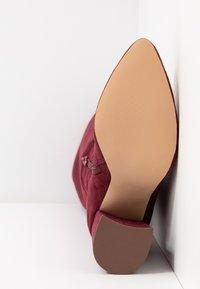 Even&Odd - Boots med høye hæler - bordeaux - 6