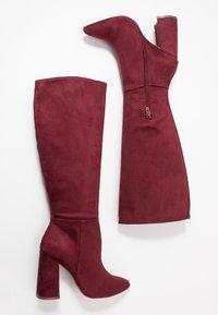 Even&Odd - Boots med høye hæler - bordeaux - 3