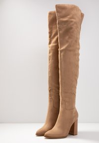 Even&Odd - High heeled boots - sand - 4