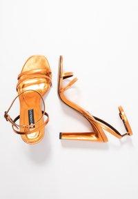 Even&Odd - Sandalen met hoge hak - orange - 3