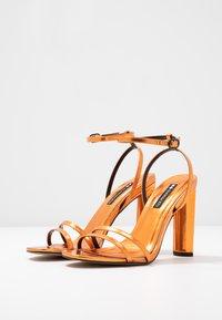 Even&Odd - Sandalen met hoge hak - orange - 4