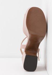 Even&Odd - Sandály na vysokém podpatku - nude - 6