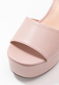 Even&Odd - Sandály na vysokém podpatku - nude - 2
