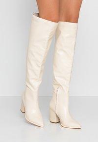 Even&Odd - Boots med høye hæler - offwhite - 0