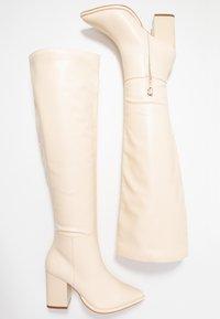 Even&Odd - Boots med høye hæler - offwhite - 3