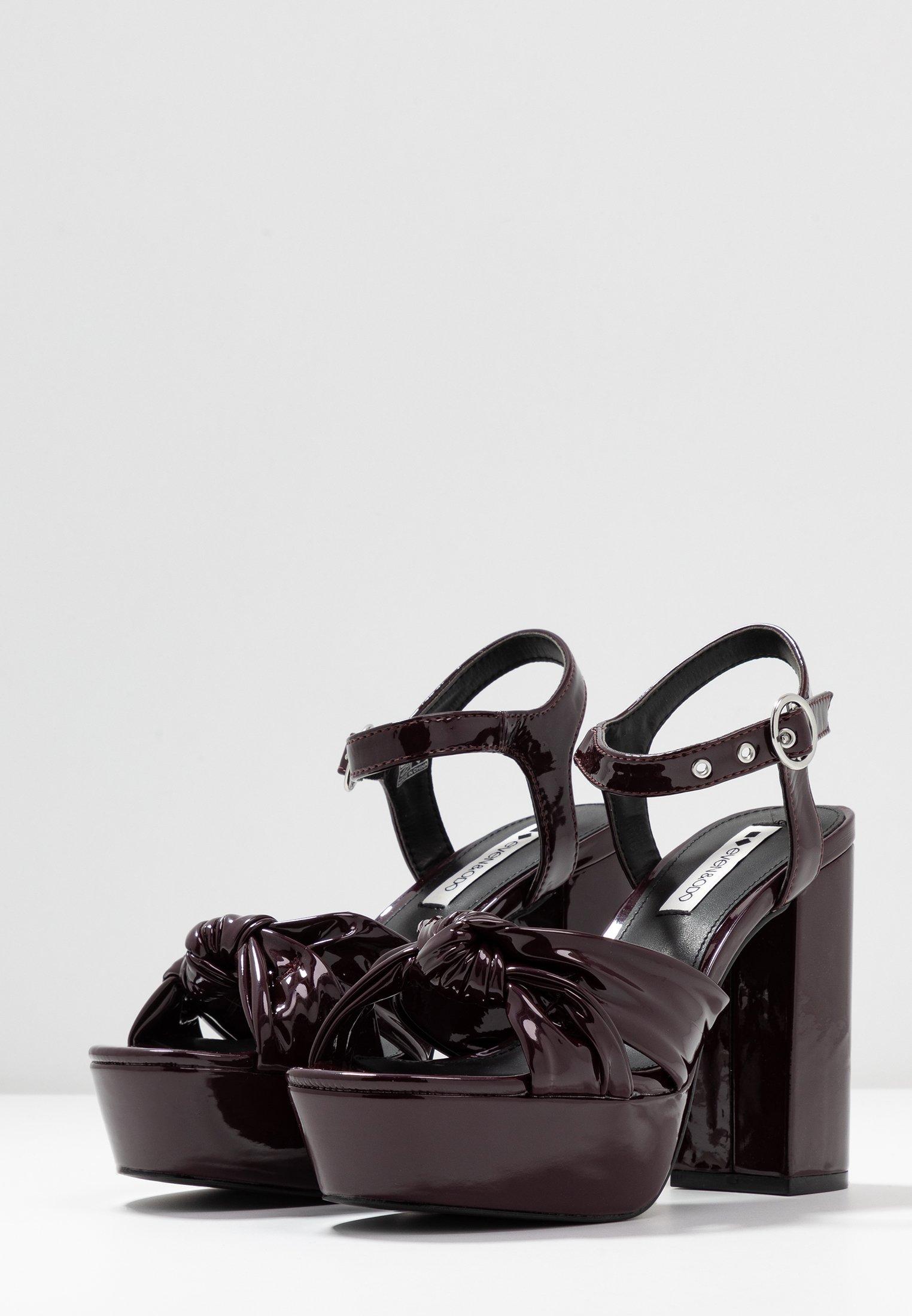 Even&Odd Sandaletter - bordeaux