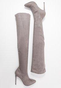 Even&Odd - High heeled boots - grey - 3