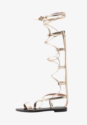 Sandaler - light gold