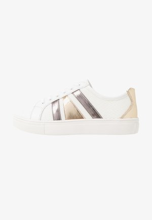 Sneakers laag - white/gold
