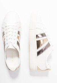 Even&Odd - Trainers - white/gold - 3