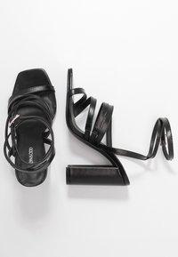 Even&Odd - Sandales à talons hauts - black - 3
