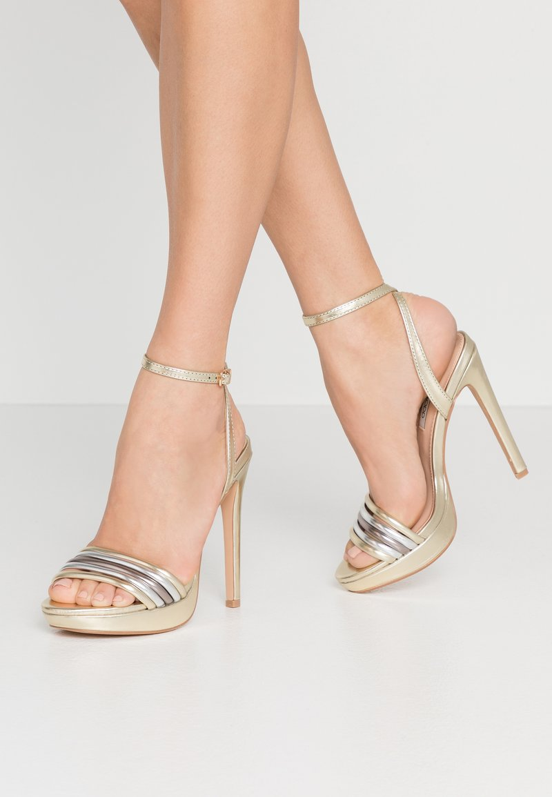 Even&Odd - High heeled sandals - gold