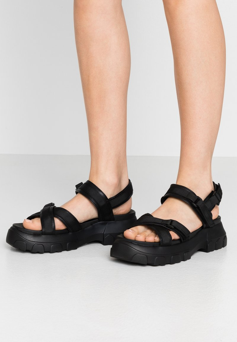 Even&Odd - Platform sandals - black