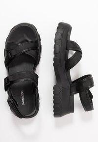 Even&Odd - Korkeakorkoiset sandaalit - black - 3