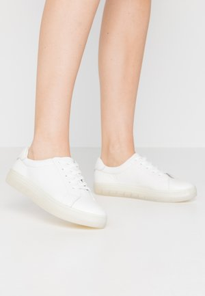 LEATHER  - Zapatillas - white