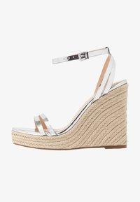 Even&Odd - Korolliset sandaalit - silver - 1