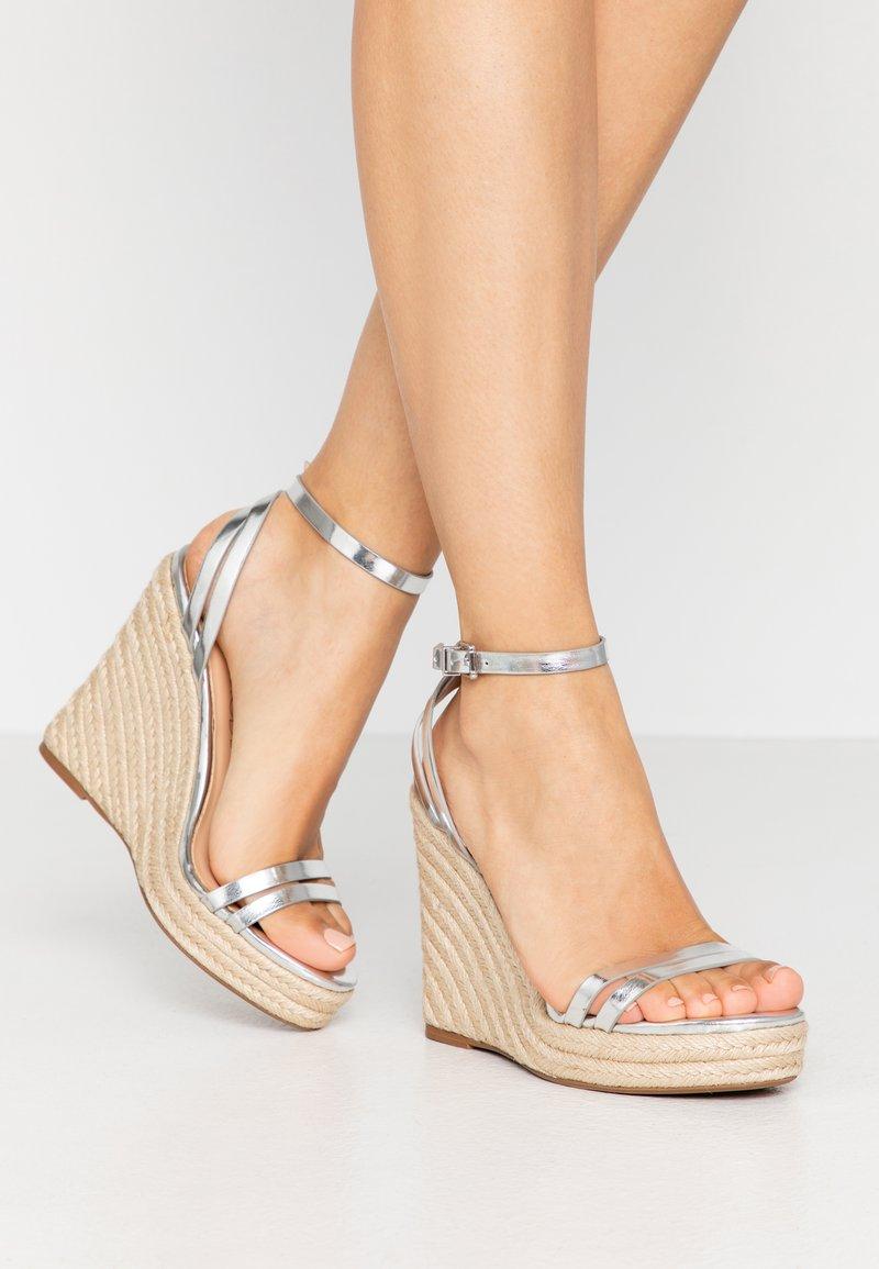 Even&Odd - Korolliset sandaalit - silver