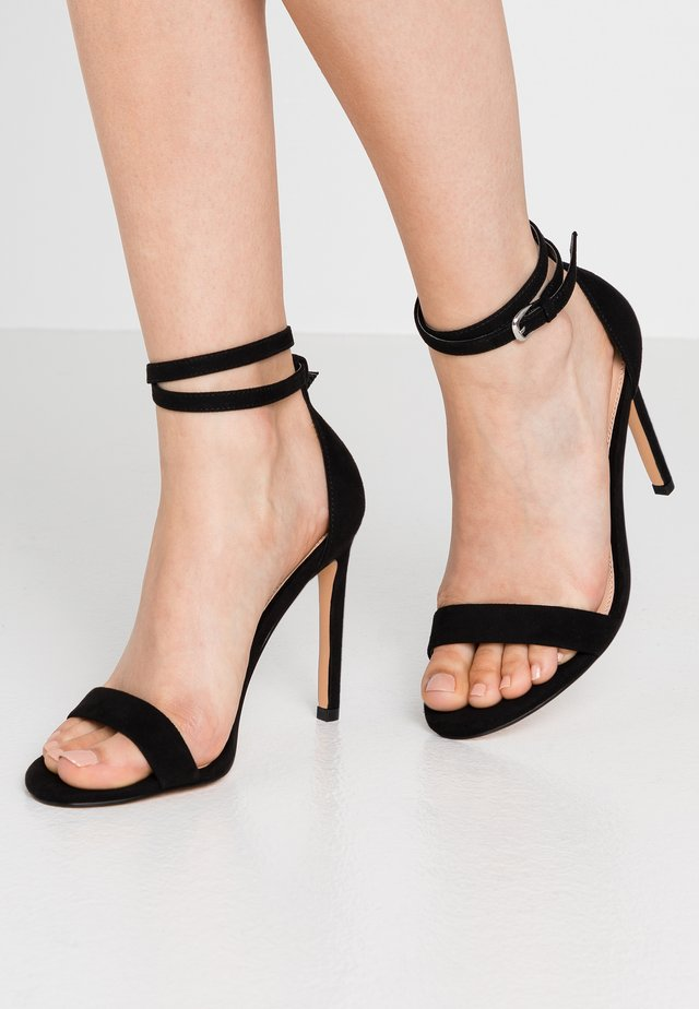 High Heel Sandalette - black