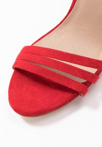 Even&Odd - LEATHER - High heeled sandals - red - 2