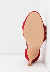 Even&Odd - LEATHER - High heeled sandals - red - 6