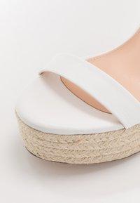 Even&Odd - Sandaler med høye hæler - white - 2