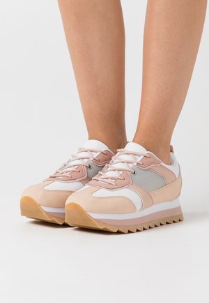 Sneakers - white/nude