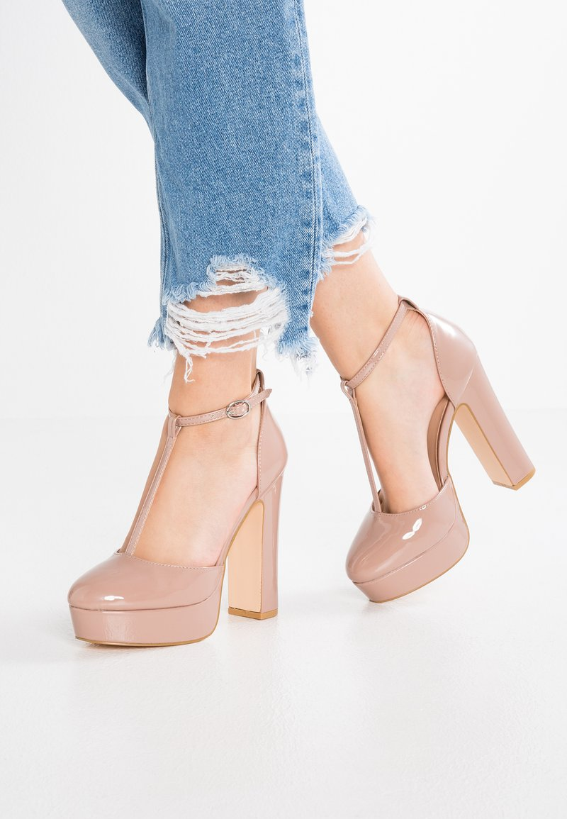 Even&Odd - High Heel Pumps - rose