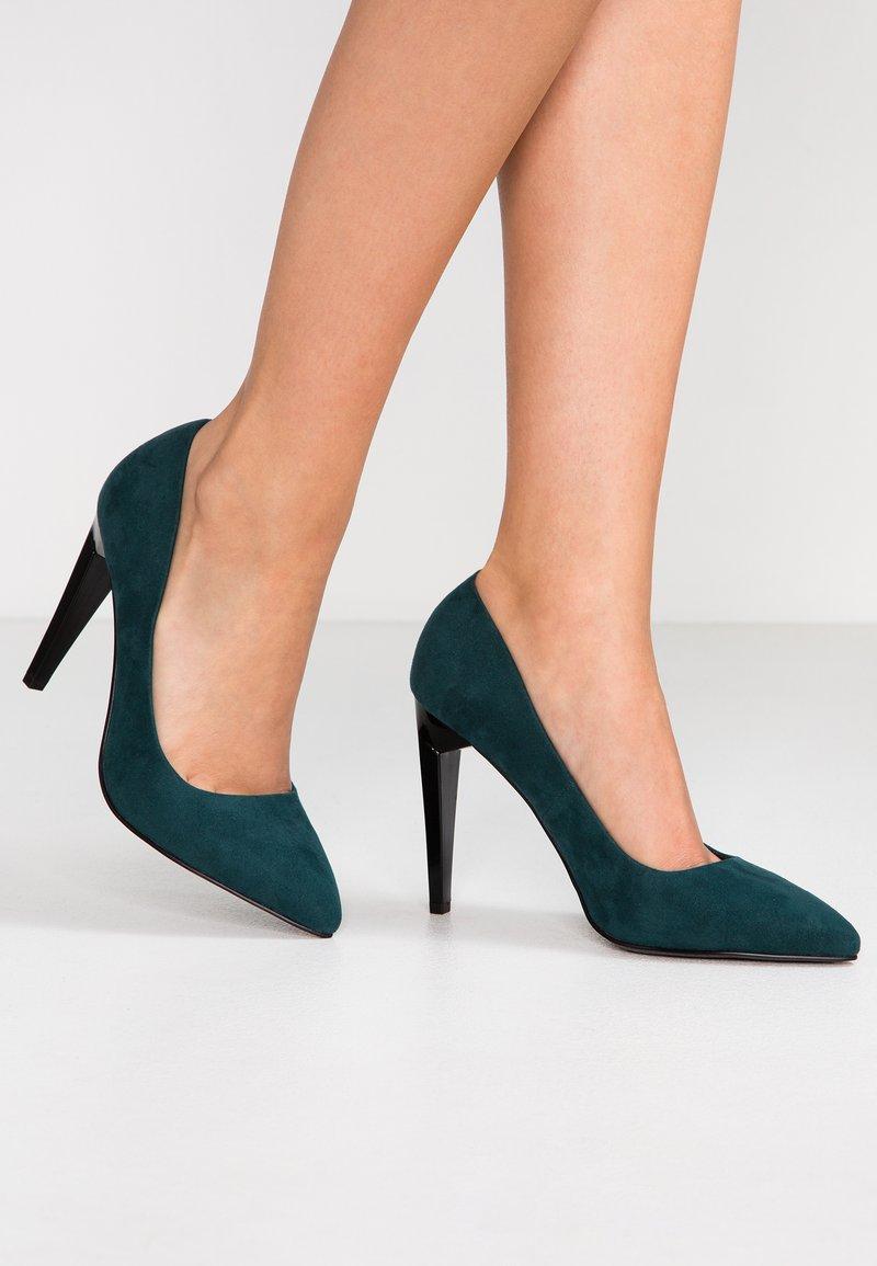Even&Odd - High heels - green