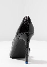 Even&Odd - Lodičky na vysokém podpatku - black - 5
