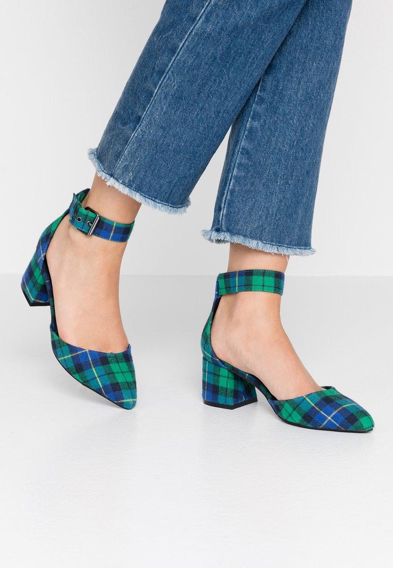 Even&Odd - Classic heels - green