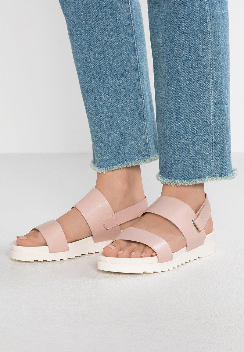 Even&Odd - Platform sandals - nude