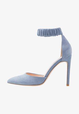 Lodičky na vysokém podpatku - blue