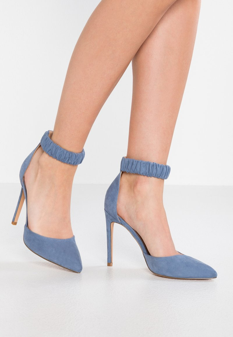 Even&Odd - Højhælede pumps - blue