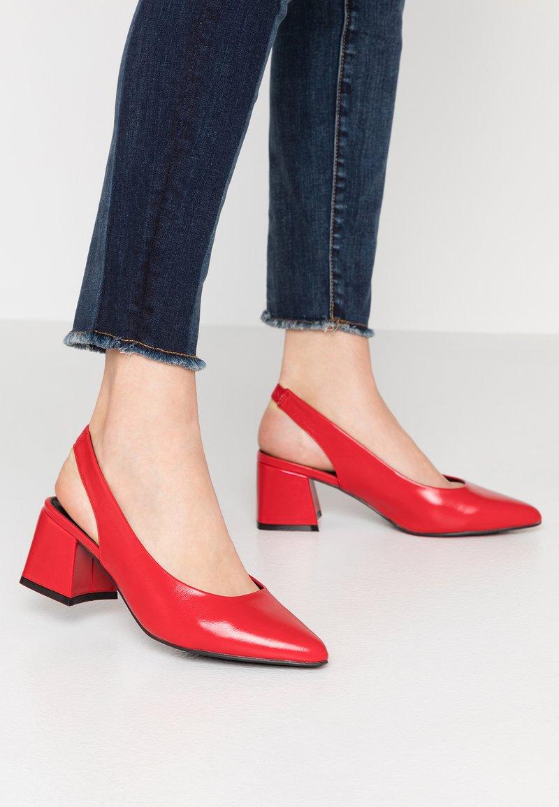 Even&Odd - Tacones - red