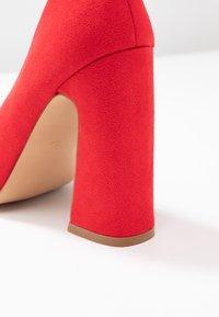 Even&Odd - Lodičky na vysokém podpatku - red - 2