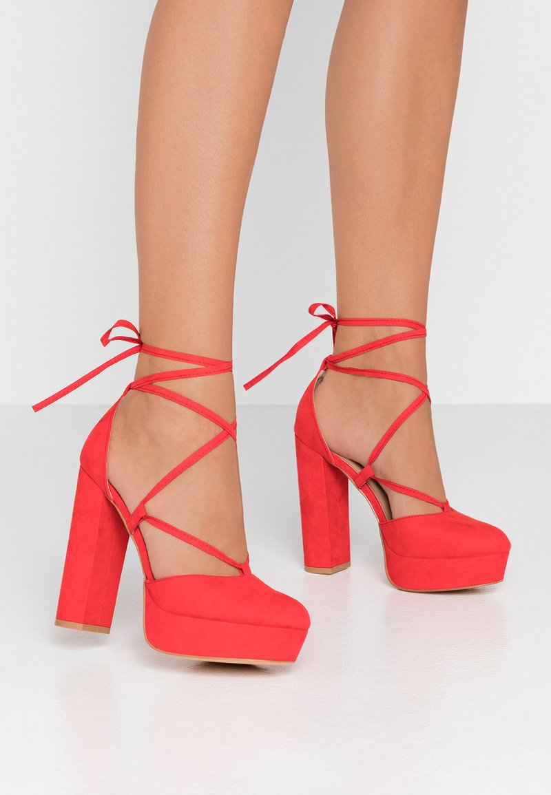 Even&Odd - High Heel Pumps - red