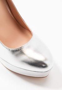 Even&Odd - Zapatos altos - silver - 2