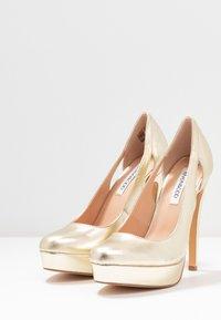 Even&Odd - Zapatos altos - gold - 4