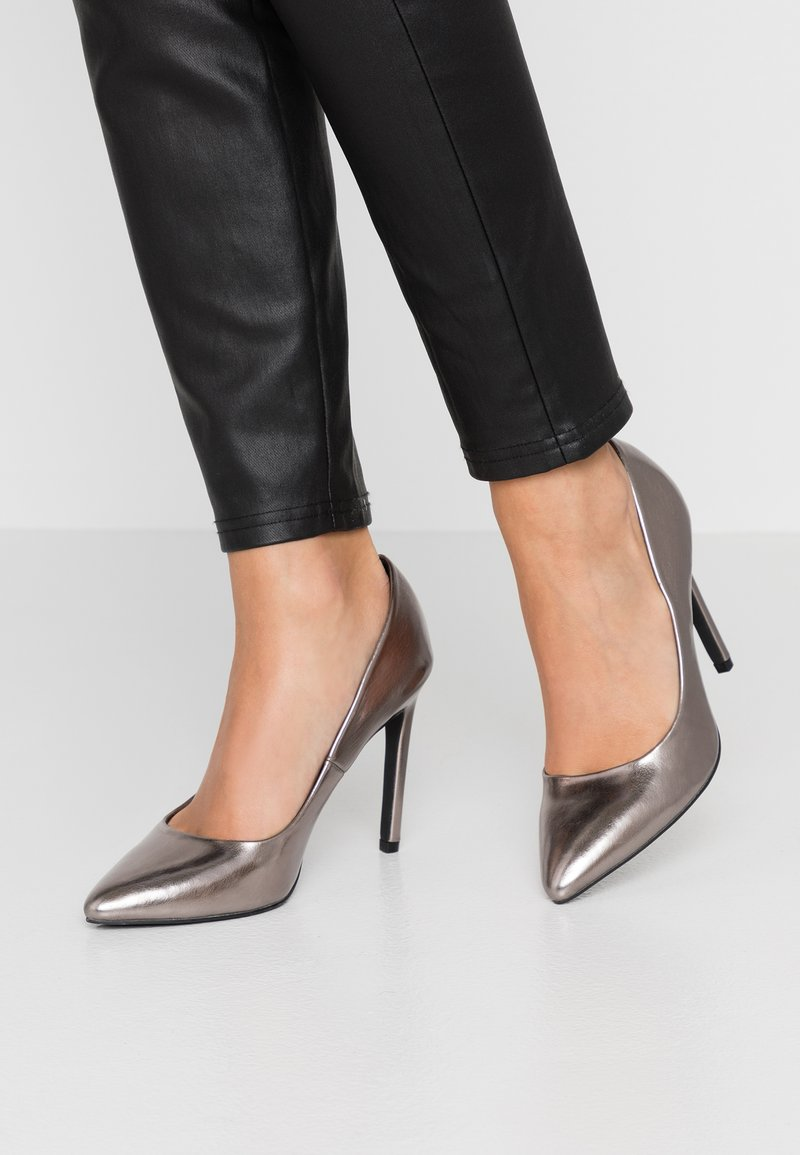 Even&Odd - Zapatos altos - gunmetal