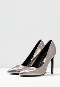 Even&Odd - Zapatos altos - gunmetal - 4