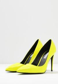 Even&Odd - Høye hæler - neon yellow - 4
