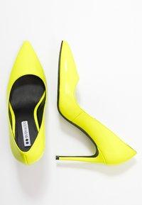 Even&Odd - Høye hæler - neon yellow - 3