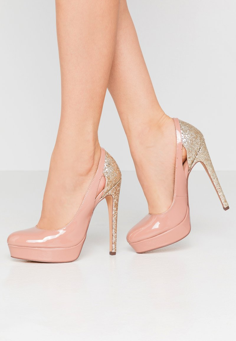 Even&Odd - Klassiska pumps - nude