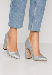 Even&Odd - High heels - silver - 0