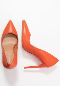 Even&Odd - LEATHER PUMP - High heels - orange - 3