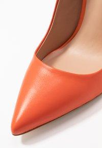 Even&Odd - LEATHER PUMP - High heels - orange - 2